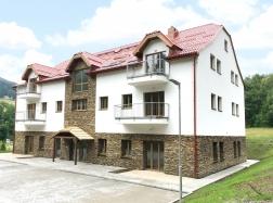 Apartmán 2+kk v Horní Lipové